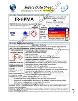 IR Hydrolyzed Polymaleic Anhydride SDS