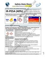 IR Polyepoxysuccinic Acid 40% SDS