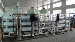 membrane ultrapure water preparation