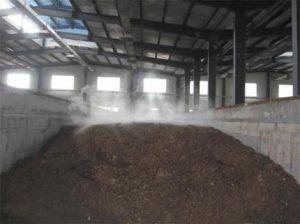 Sludge Sewage Composting
